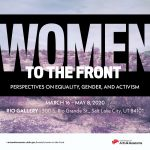 WOMEN TO THE FRONT: PERSPECTIVES ON EQUALITY, GENDER, AND ACTIVISM -VENUE CLOSED
