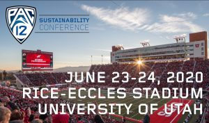 Pac-12 Sustainability Conference- POSTPONED