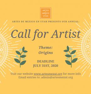 Call for Artists: Artes de México en Utah