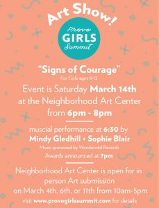Girls Summit Art Show with Special Musical Guests