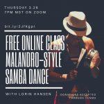 ONLINE - Malandro Samba Encounter