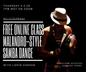 ONLINE - Malandro-Style Samba