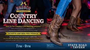 Country Line Dancing Lessons -SPRING DATES CANCELL...
