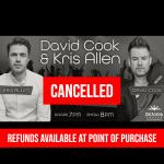 [CANCELLED] David Cook & Kris Allen