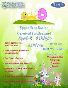 Annual Eggcellent Easter Carnival Fundraiser -POST...