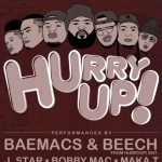 HurryUP! @ The Complex- POSTPONED
