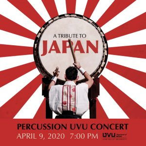 CANCELLED: A Tribute to Japan: Percussion UVU