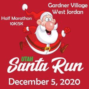 Utah Santa Run - Gardner Village 2020- CANCELLED