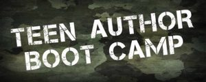 Teen Author Boot Camp -POSTPONED
