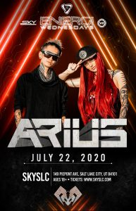 Energi Wednesdays: Arius (18+)