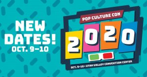 Pop Culture Convention 2020- CANCELLED