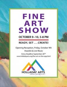 2020 Holladay Fine Art Show