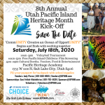 8th Annual Utah Pacific Islands Heritage Month Kick Off