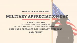 2020 Military Appreciation Day- CANCELLED
