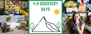 4-H Discovery Days 2020- CANCELLED