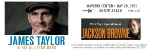 James Taylor & His All-Star Band with very special guest Jackson Browne -RESCHEDULED