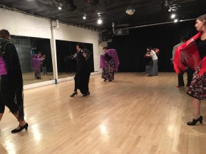 Flamenco Dance with Props
