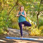 Virtual Yoga in the Garden