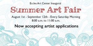 Call for Artists: Summer Art Fair