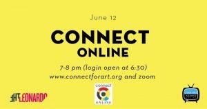 Connect at Urban Arts Gallery -VIRTUAL