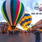 3rd Annual Dinah SOAR Days Hot Air Balloon Festival