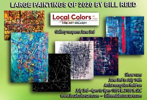 Large Paintings of 2020 by Bill Reed