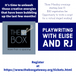 Playwriting with Elise and RJ
