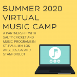 Salty Cricket Virtual Music Camps