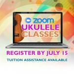 Zoom Ukulele Classes: August