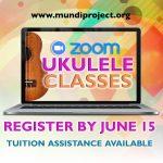 Zoom Ukulele Classes: July