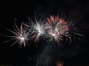 2020 Fireworks Show - Utah Valley