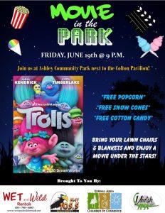 Movie in the Park- Trolls