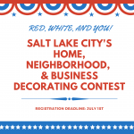 Salt Lake City's Red White and You Decorating Contest