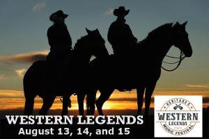 2020 Western Legends Heritage & Music Festival...