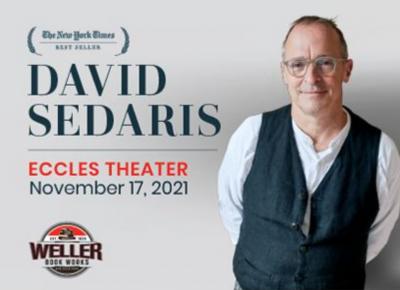 An Evening with David Sedaris- RESCHEDULED