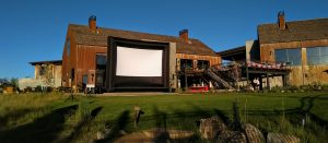 Outdoor Movie Screen Rental / Social Distancing Dr...