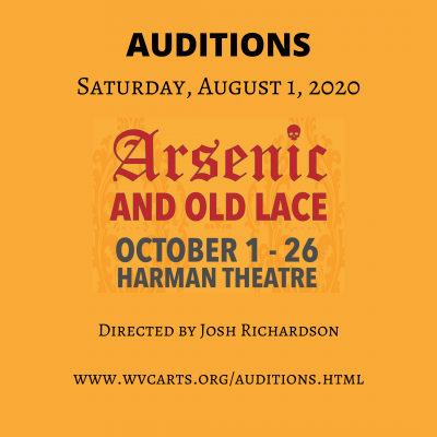 'Arsenic and Old Lace' Auditions