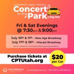 Concert in the Park-ing Lot Series