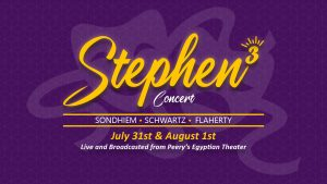 "Ogden Musical Theater Presents ""Stephen Cubed"""