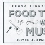 Pioneer Day Food Trucks and Music