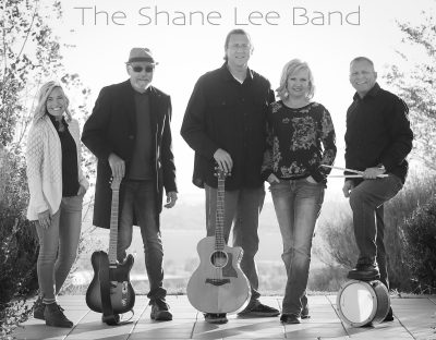 Shane Lee Band at Music Mondays in the Park