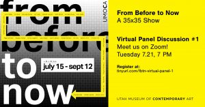 From Before to Now Virtual Panel Discussion