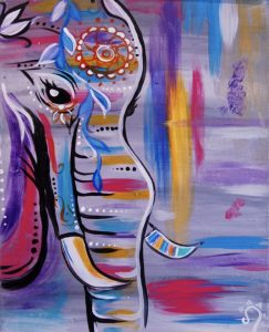 Colorful Elephant: All Ages Class