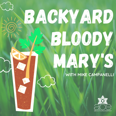 Backyard Bloody Mary's with Abominable Bitters
