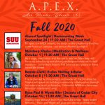 APEX Event - Fall 2020 Speaker Series