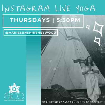 Instagram Live Yoga with Marie