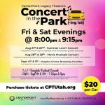 Concerts in the Park(-ing lot)