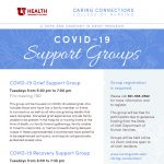 Caring Connections: COVID-19 Support Groups