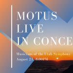 Musicians of the Utah Symphony Live in Concert!