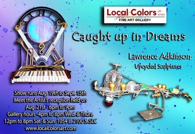 Lawrence Wayne Adkionson Featured Artist at Local Colors of Utah Art Gallery